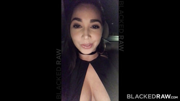 BLACKEDRAW Latina wife squirts with 12 inch monster black cock