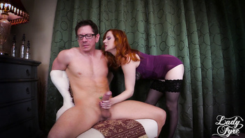 Lady Fyre Femdom: Stepmother Makes You Submit to Daddy's Cock