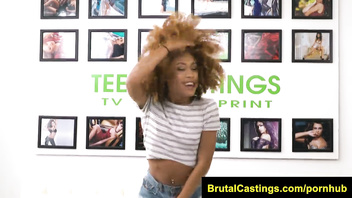 BrutalCastings Kendall Woods ebony bdsm