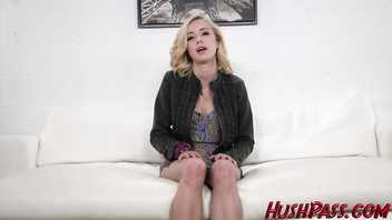 Cute Teen Haley Loves big cock!