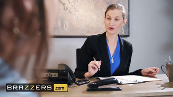 Brazzers - Office slut Abigail Mac gets pounded at work