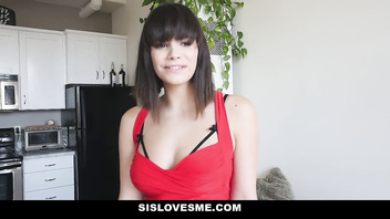 SisLovesMe - Found Step-Sis Tied Up & Fucked Her