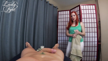 Massage Therapist Stuffs Herself with My Dick -Lady Fyre