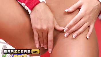 Brazzers - Two hot busty brunette teens get jack hammered by cock