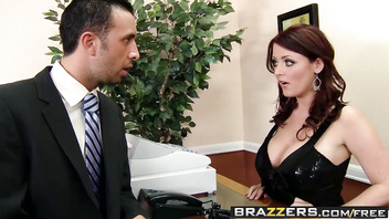 Big Tits at Work - Diamonds Are Whorever scene starring Sophie Dee Keiran Lee