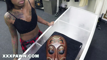 African Ceremonial Sex in The XXX Pawn Shop (xp15824)