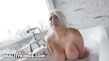 Reality Kings - Chubby blonde Kristina Shannon gets deep dicked