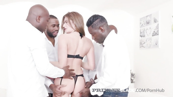PrivateBlack - Once Upon A Time 4 BBCs Did Hot Sarah Sultry!