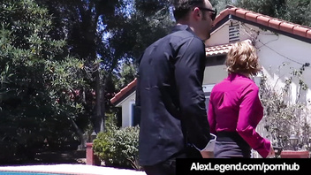 Hot Realtor Krissy Lynn Fucks French Alex Legend To Get Sale