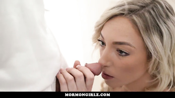 MormonGirlz-Young Girl has Pussy Secretly Licked in Church