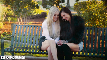 VIXEN BFFs Alex Grey And Marley Brix Share Friends Cock