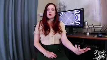 Impregnating My Therapist Lady Fyre POV milf Redhead
