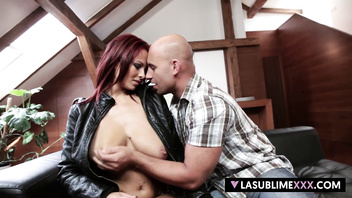 LaSublimeXXX Busty redhead Dominno gets gaped