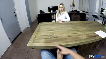 Spy Pov - Get used to fucking your Goldie Ortiz boss teen-porn