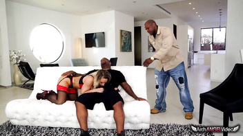 Cali Carter Caught Cheating by BF - Threesome Ensues