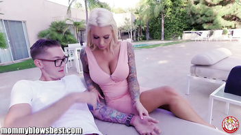 MommyBlowsBest Lolly Ink Blows Daughter's Boyfriend
