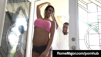 Rome Major Fucks His Personal Trainer Makayla Cox with BBC!