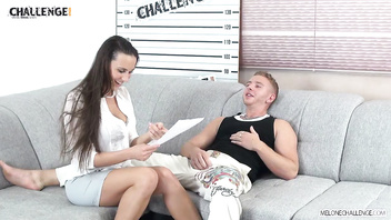 Melonechallenge Bad Boy Fails Miserably with Pornstar Mea Melone & Wendy Moon
