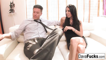 Casting couch with Bradley that ends with a creampie