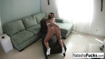 Natasha enjoys a little alone time by herself
