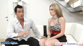 Chesty neighbor Courtney Cummz fucking