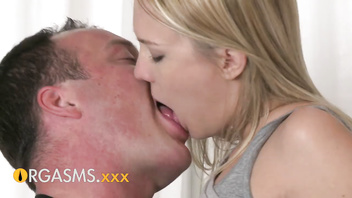 ORGASMS Sensual young blonde girl really getting into it oral orgasm