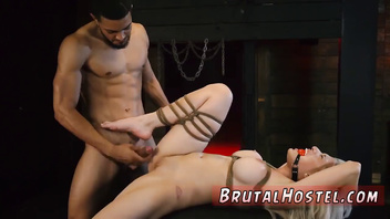 Extreme slave girl Big-breasted ash-blonde sweetie Cristi Ann is on