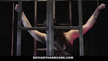 DeviantHardcore - Busty Submissive Slut Gets Slapped And Ass Fucked