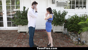 TeenPies - Hot College Babe Creampied At A Party