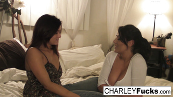 Charley Chase has some fun in this naughty threesome