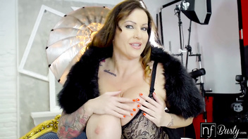 NF Busty - Frisky Photoshoot With Massive Tit Milf S8:E12