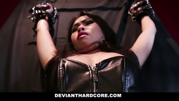DeviantHardcore - Petite Asian Teen Gets Dominated