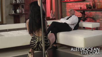 Pole Dance -Aletta Ocean anal pleasure