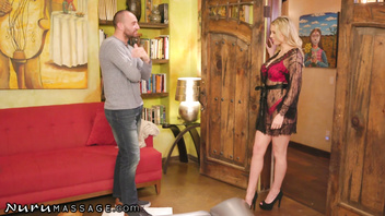 NuruMassage Cheating Husband Visits Kenzie Taylor for Full Service