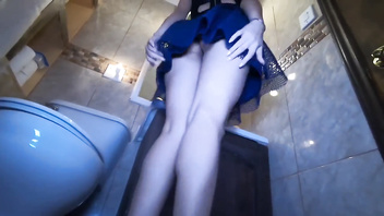 Aaane87- fucking in Bathroom at friends House Party