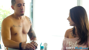 Dirty Flix - Lacy Channing - PMS slut fucked by a step bro