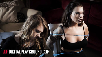 Digital Playground - Ella Hughes and Kimmy Granger share one cock