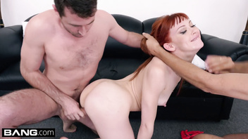 BANG Casting - Alexa Nova's first EXTREME DP fucking