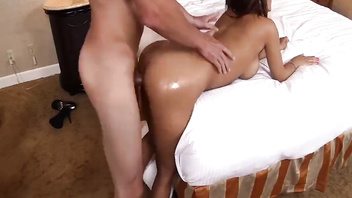 Super hot latina milf gets pounded from behind