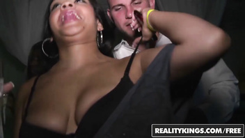 In the VIP - (Stephanie Moretti, Kimberly Cummings, Veronica Rodriguez) 5 - Club Crazy - Reality Kings