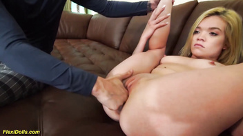 Real flexi doll katie kush rough big cock banged