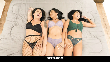 BFFS - Busty Bachelorettes Get Fucked Together