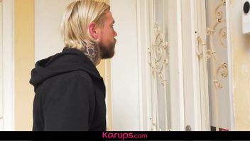 Karups - Tatted up Cougar Kayla Green Fucks Her Tattoo Artist