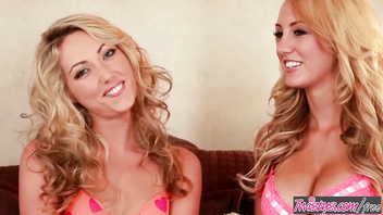 Twistys - (Sarah Peachez, Brett Rossi) starring at Sarah Is A Tasty Peach