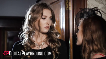 Digital Playground - Ashley Lane helps Ella Hughes geive her loss
