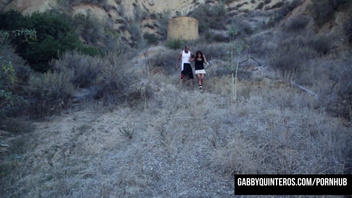 Outdoor Mature MexiMILF Fucking with Gabby Quinteros