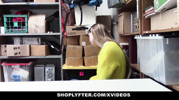 ShopLyfter - LP Officer Fucks Busty Blonde Teen