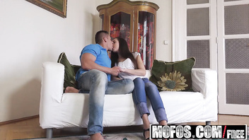 Mofos - Lets Try Anal - Abrill Gerald - Euro Hottie Gets Fucked In The Ass