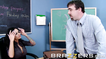 Brazzers - Big Tits at School- Dirty teacher Angelina Valentine gets pound