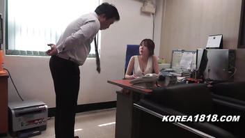 Hot korean boss cougar loves men